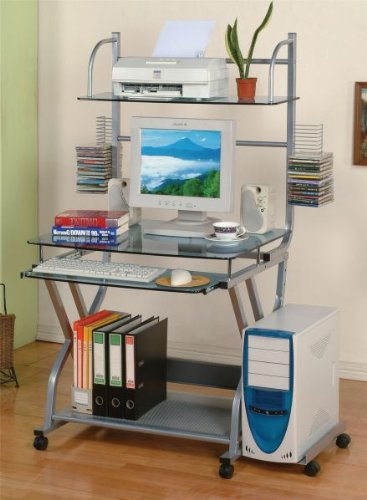 Buy Low Price Comfortable Poundex F4689 Computer Desk by Poundex (B003MBAYS2)