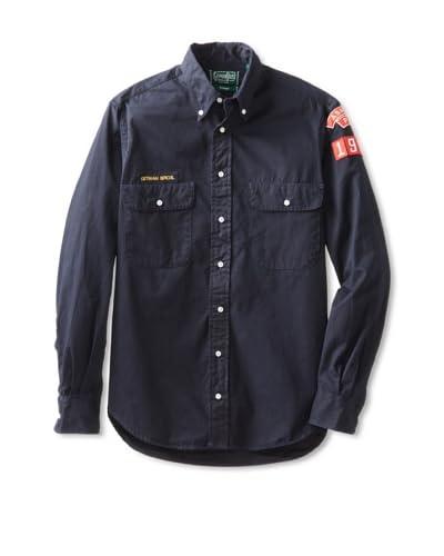 Gitman Vintage Men's Boy Scout Double Pocket Long Sleeve Shirt