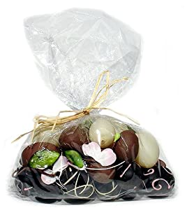 Artificial Chocolate Easter Eggs in Gift Bag