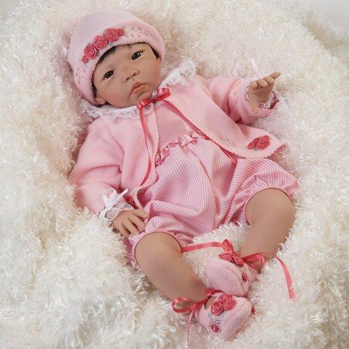 """Asian Baby Doll """"Nischi"""" 19 Inch (Artist: Jannie DeLange) by Paradise Galleries Dolls"""