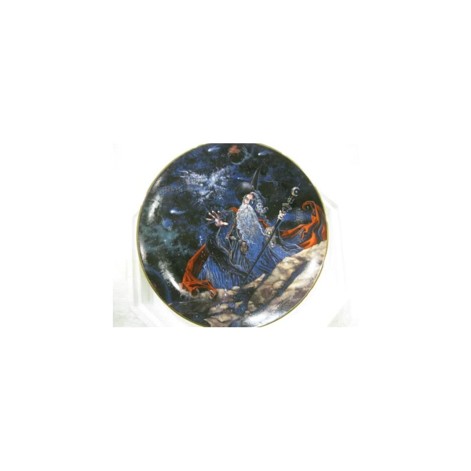 Dragon Star Collectible Plate by Myles Pinkney from The Franklin Mint Heirloom Recommendation Royal Dalton Limited Edition Fine Bone China Plate Number RA2303