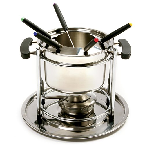 Norpro Stainless Steel 10 Piece Fondue Set
