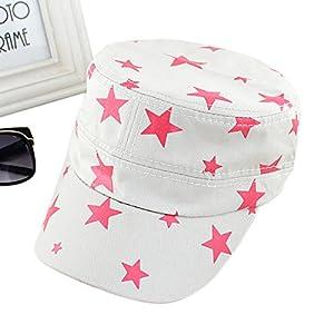 Neuste Fashion 2014 Süßigen Zufälligen Stern Dekortion Sommer Sonne Hunt und Mütze für Damen