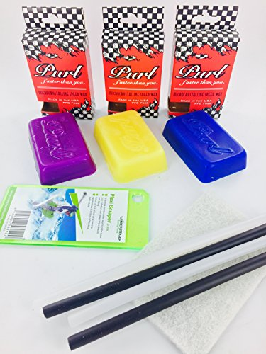 Purl Ski/Snowboard Wax Kit ~Includes All 3 Temps~ (Purl Snowboard Wax compare prices)