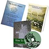 How To Pray Journal Bundle:61min Audio CD, Prayer Writing Journal & Prayer Poster