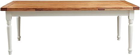 TABLE EXTENSIBLE, BOIS DE NOYER 200x90 CM