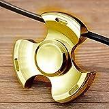 #5: Gencliq Metal Fidget Spinner Toy, 2min spinning time