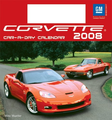Corvette Car-a-Day w/toy 2008 Calendar