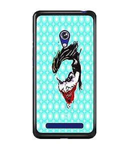 PrintDhaba Joker D-4889 Back Case Cover for ASUS ZENFONE 5 A501CG (Multi-Coloured)