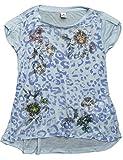 Replay Shirt - Camiseta para niñas, color blau (dusty azure 108), talla 8 años (128 cm)