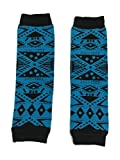 KWC - American Indian Tribal Blue Baby Toddler Leg Warmer (Morning Stars)