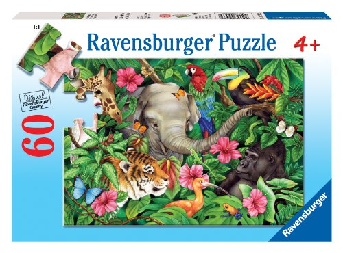 Ravensburger Tropical Friends - 60 Piece Puzzle