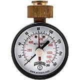 """Winters PETM213LF PETM-LF Series Pressure Gauge, 2.5"""" Dial size, 0/160 psi/kpa, ±3-2-3% accuracy"""