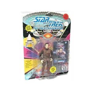 Star Trek The Next Generation Lore 4 inch Action Figure