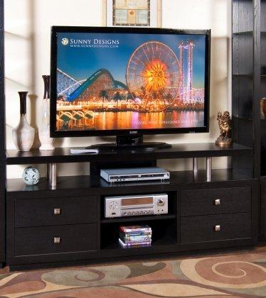 Sunny Designs 3430B-68 New York TV Console