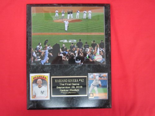 Mariano Rivera New York Yankees 2 Card Collector Plaque w/8x10 Photo FINAL GAME AT YANKEE STADIUM 2013 at Amazon.com