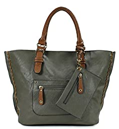 Scarleton Large Tote H103521 - Coffee