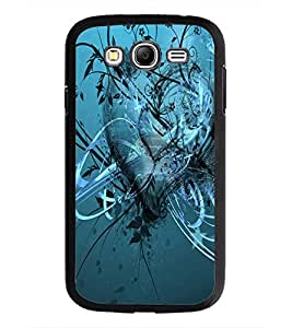 PrintDhaba Heart D-2034 Back Case Cover for SAMSUNG GALAXY GRAND NEO PLUS (Multi-Coloured)
