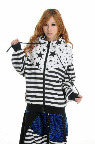 Blooms - Fashion Star Stripe Hoodies Jacket One