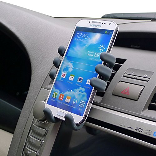 Car mount for iphone 6S Plus , Car Mount Holder for Apple iPhone 6 Plus,Samsung Galaxy Note 4, Samsung Galaxy Note 3 and any other smartphone from 5.5inch-6.5inch (BLACK)