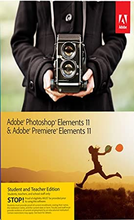 Adobe Photoshop Elements & Adobe Premiere Elements 11 Student Teacher Edition [Download]