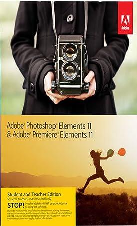 Adobe Photoshop Elements & Adobe Premiere Elements 11 Student Teacher Edition [Download]