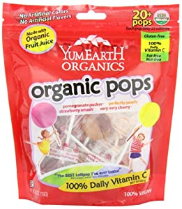 Yummy Earth Organic Lollipops, 4.2oz