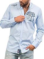 Signore Dei Mari Camisa Hombre James (Azul Claro)