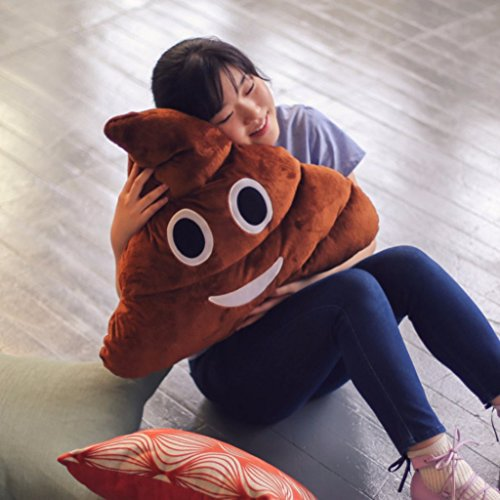 Huge Emoji Poop Pillow - 51z 2BL629zuL - Huge Emoji Poop Pillow