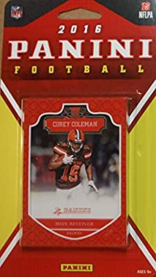 Cleveland Browns 2016 Panini Factory Sealed Team Set with Josh McCown, Joe Haden, 6 Rookie Cards and others