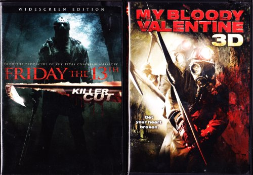 Friday the 13th Extended Killer Cut , My Bloody Valentine : Horror Slasher 2 Pack