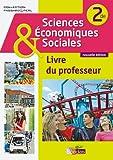 Sciences économiques et sociales 2de  Livre du professeur