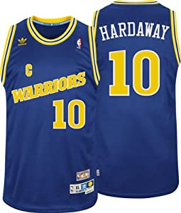 Golden State Warriors #10 Tim Hardaway NBA Soul Swingman Jersey, Blue by adidas