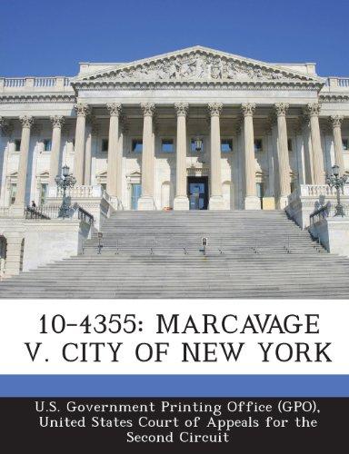 10-4355: Marcavage V. City of New York