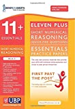 Eleven Plus Exams 11+ Essentials Short Numerical Reasoning (Quick-fire Questions) for CEM: Book 2 (First Past the Post)