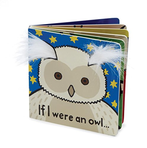 Jellycat® Board Books, If I Were An Owl front-742748