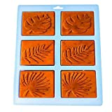 Silicone Mold, Palm olive leaves Craft Art Silicone Soap Mold Craft Molds DIY Handmade Soap Molds - Soap Making Supplies by YSCEN (Color: 13)