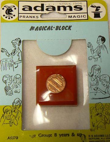 Magical Block - AKA the Penny to Dime Trick