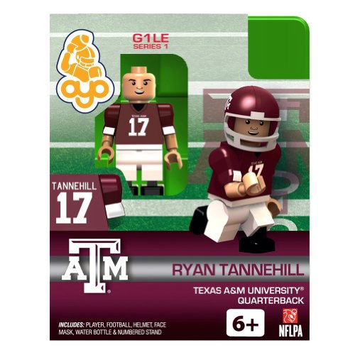Ryan Tannehill NCAA Texas A&M University Oyo Series 1 Minifigure - 1