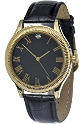 FMD Gold Tone Leather Womens Watch FMDM167