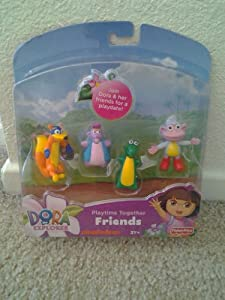Fisher-Price Dora the Explorer: Playtime Together Friends