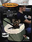 Pet Booster Seat w/ Faux Sheepskin Lining