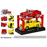 1956 Ford F-100 (Red & Yellow) M2 Machines 2013 Auto-Lift 1:64 Scale Die-Cast Vehicles... by M2 Machines