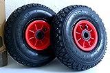Lot de 2 roues gonflables