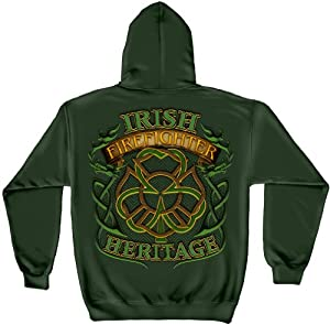 Irish Heritage Firefighter Sweatshirt - X-Large