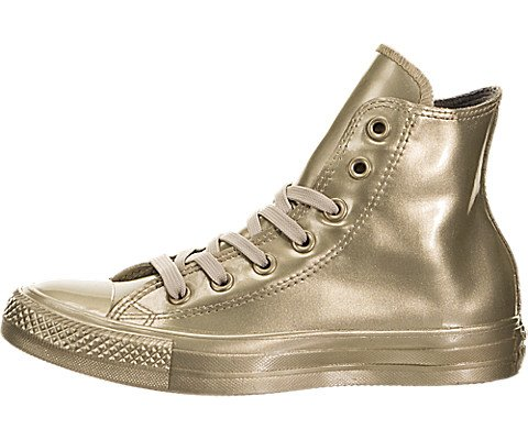 CONVERSE ALL STAR CT METALLIC RUBBER HI ORO VERNICE 553269C - 38, ORO