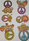 Main Street Wall Creations - Jumbo Stickers Peace Signs