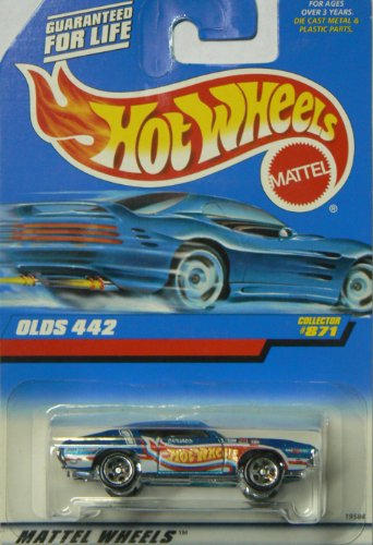 #871 Olds 442 Collectible Collector Car Mattel Hot Wheels - 1