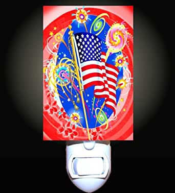 4th Of July Party Decorative Night Light