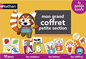 Nathan - 31411 - Jeu Educatif et Scientifique - Grand Coffret Petite Section